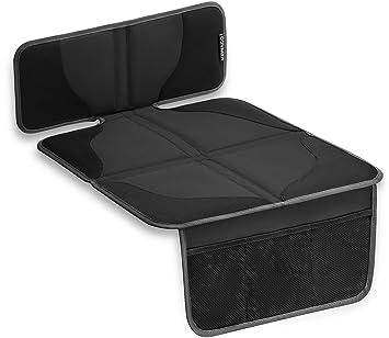 Kewago Premium Kindersitzunterlage Für Autositzerhöhungen Autositz Schutz Für Sitzerhöhung Und Kindersitz Autositzschoner Für Isofix Schmutzabweisende Und Universell Passende Sitzunterlage Baby