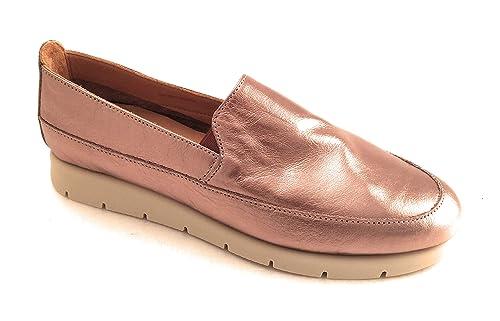 DARKWOOD Mocasines de Piel Para Mujer Marrón Bronce: Amazon.es: Zapatos y complementos