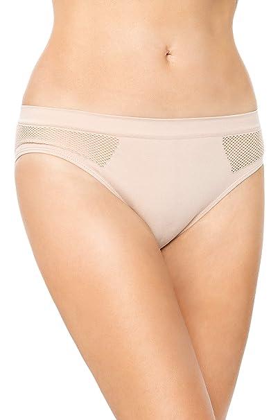 Womens Knickers Mesh Panties Classic Briefs Underwear Pineapple Pattern FG9098
