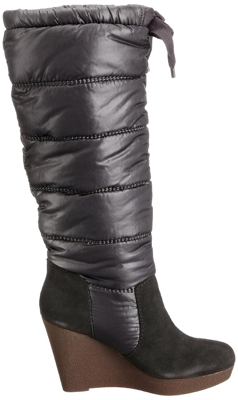 c581766df5 Calvin Klein Jeans Sophie Suede/Nylon Womens Knee high Boots Dark Green 7  UK, 39 EU: Amazon.co.uk: Shoes & Bags