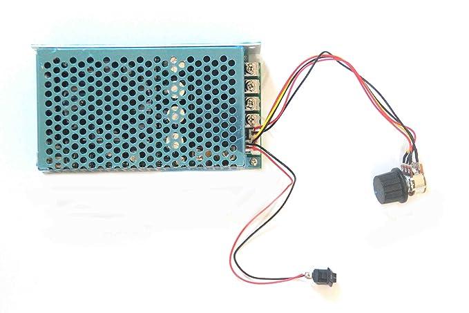 lejin 10 – 50 V/5000 W/80 a 100 A Regulador de velocidad
