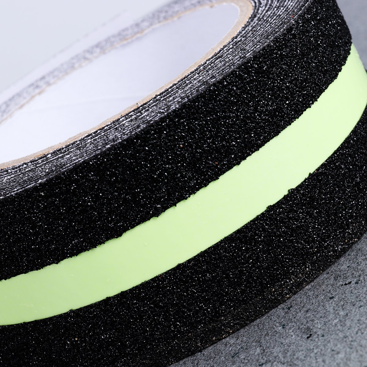 ueetek antideslizante cinta de seguridad verde fluorescente antideslizante cinta de seguridad 2/pulgadas por 16.4/ft interior o exterior aplicable