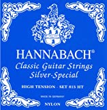 Hannabach Classical Guitar High Tension Nylon/Silver, 815-HT