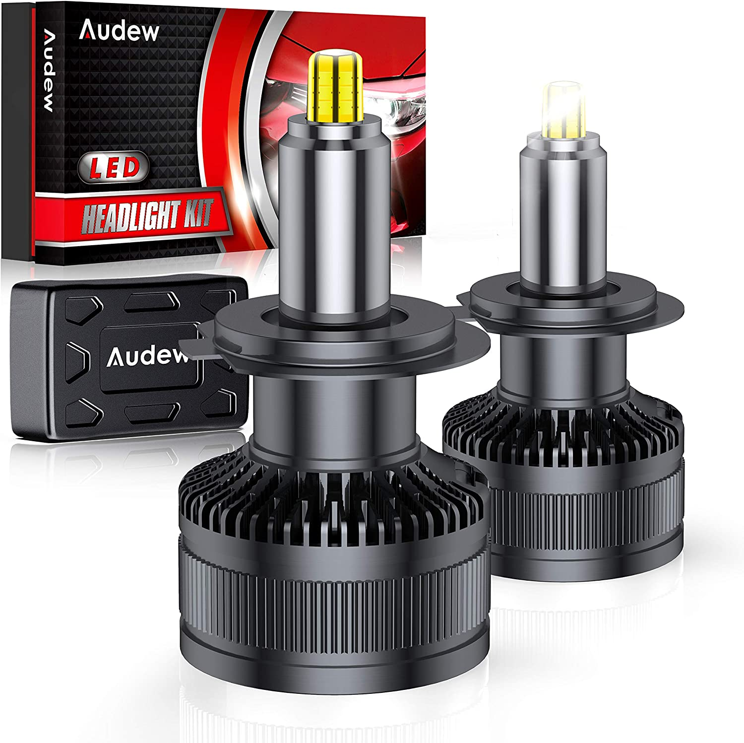 Audew H7 LED Headlight Bulbs