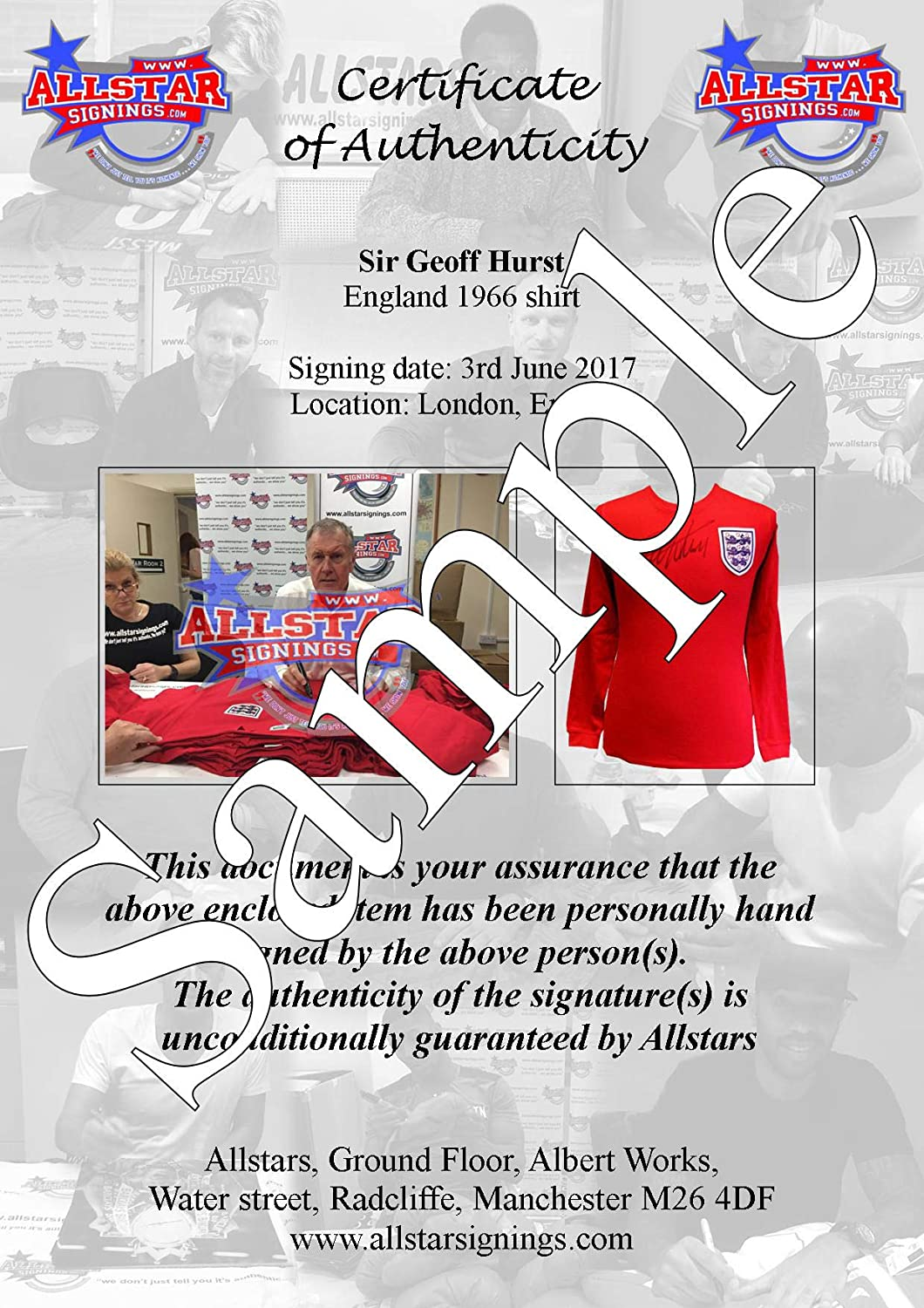 Ian Wright Arsenal signed framed 16x12 photo with COA and proof