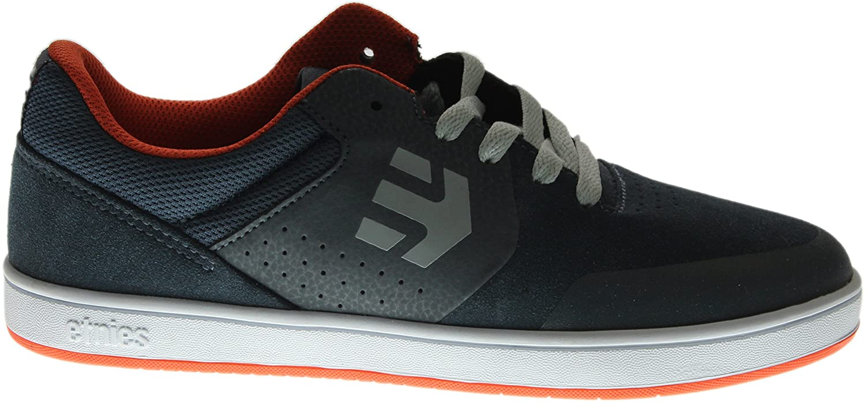 Etnies, Kids Marana, Zapatillas de Skateboard, Unisex, Gris (Black/Dark Grey/Red565), 33 EU