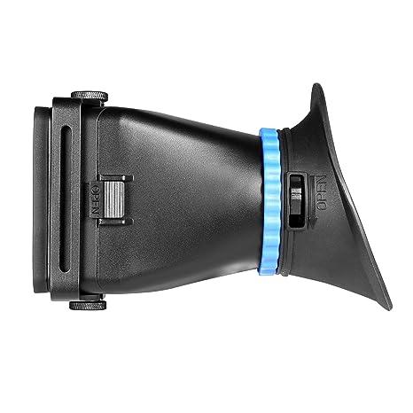 EACHSHOT® Plegable Universal Fit ST-1 pantalla LCD Visor Visor ...