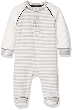 7fd3192d2 ESPRIT Kids Baby Overall Footies, Off-White (Ecru 112), 3-6 Months ...