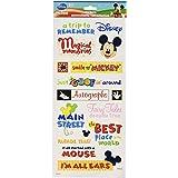 Sandylion Themepark Phrase Clear Sticker, 5.5 by 12-Inch