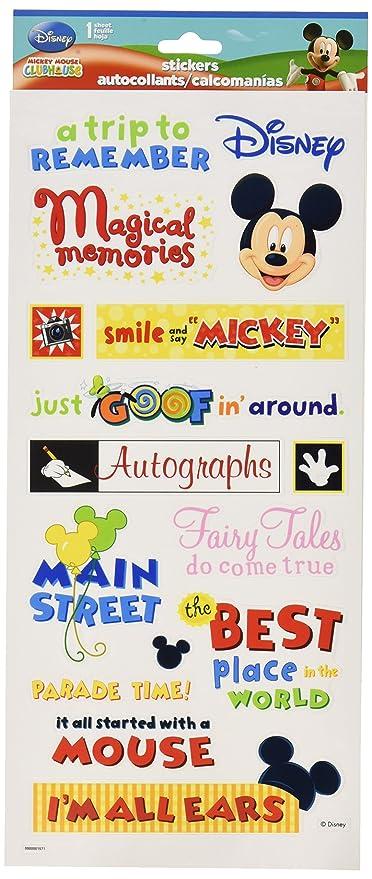 Sandylion themepark phrase clear sticker 5 5 by 12 inch