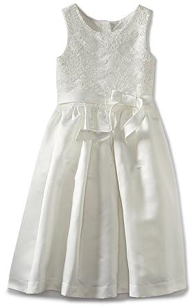 811ebd3f8a6da Amazon.com  Us Angels Big Girls  Lace Overlay Dress  Special Occasion  Dresses  Clothing