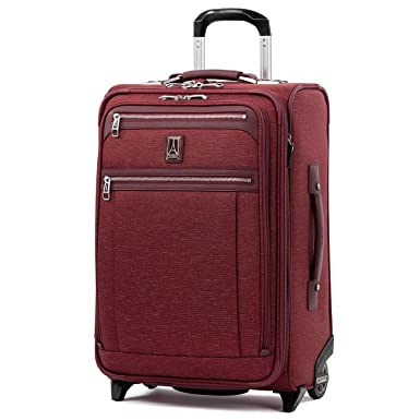 "4ade339fa Travelpro Luggage Platinum Elite 22"" Carry-on Expandable Rollaboard  w/USB Port,"