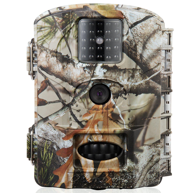 olymbros T3 vida silvestre juego cámara Trail con visión nocturna por infrarrojos 16 MP HD y pantalla LCD de 2,4 pulgadas IP65 resistente al agua movimiento ...