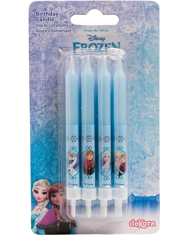 Amazon.com: Disney Frozen 8 birthday candles: Home & Kitchen