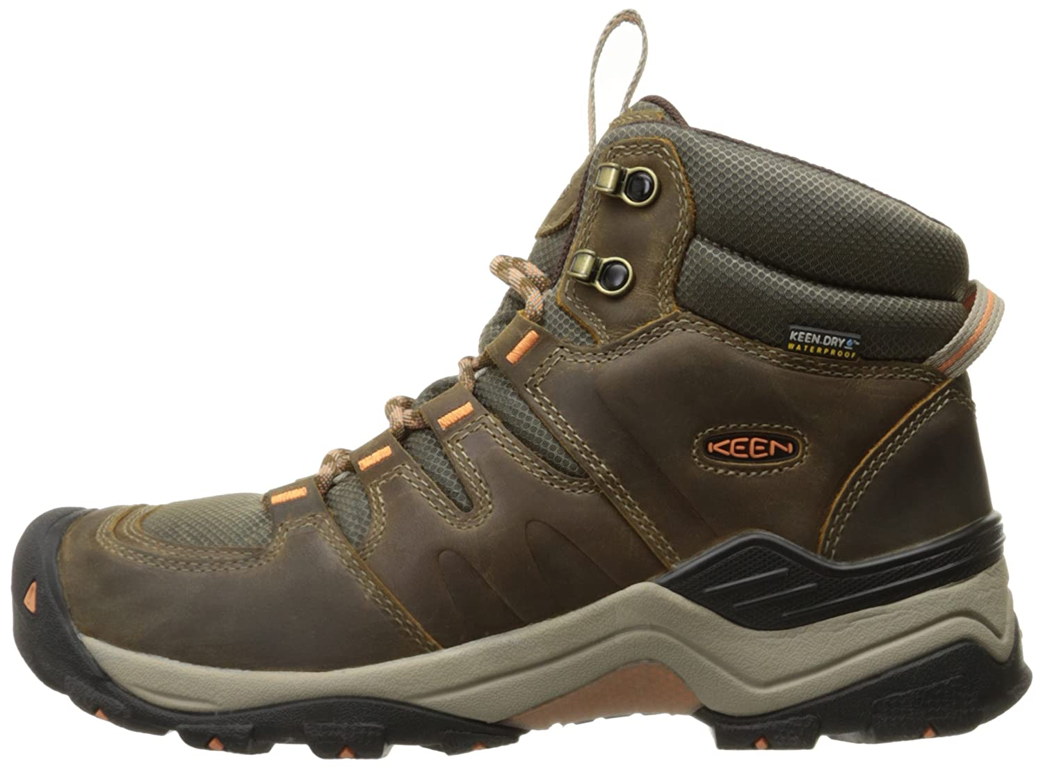 KEEN Women's B(M) Gypsum Ii Mid Wp-w Boot B019FD00EI 5 B(M) Women's US|Corn Stock/Gold Coral 5f30a3