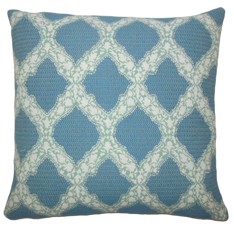 The Pillow Collection Rajiya Geometric Bedding Sham Cayenne King//20 x 36