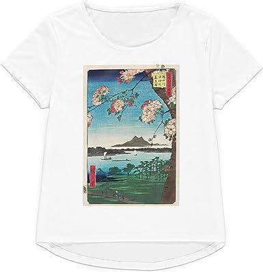 Strand Clothing Camiseta Japonesa Ukiyo-e con Estampado de Bloques de Madera para Mujer y Hombre: Amazon.es: Ropa y accesorios
