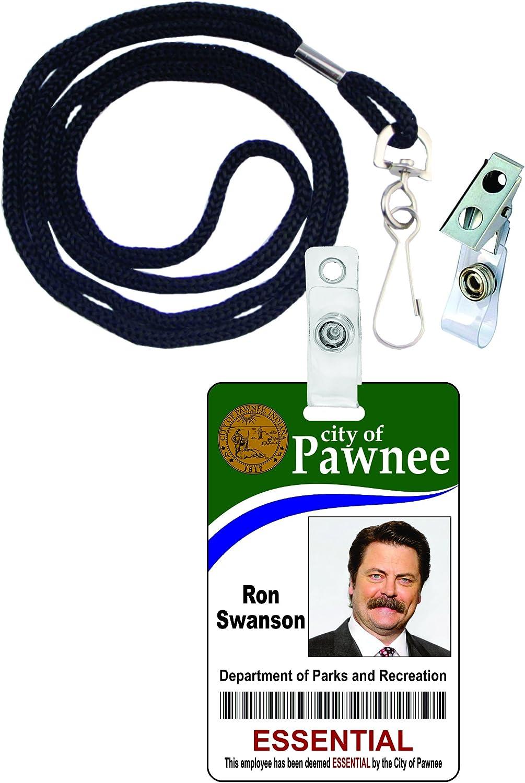Ron Swanson parques y Rec – Insignia de Identificación ...