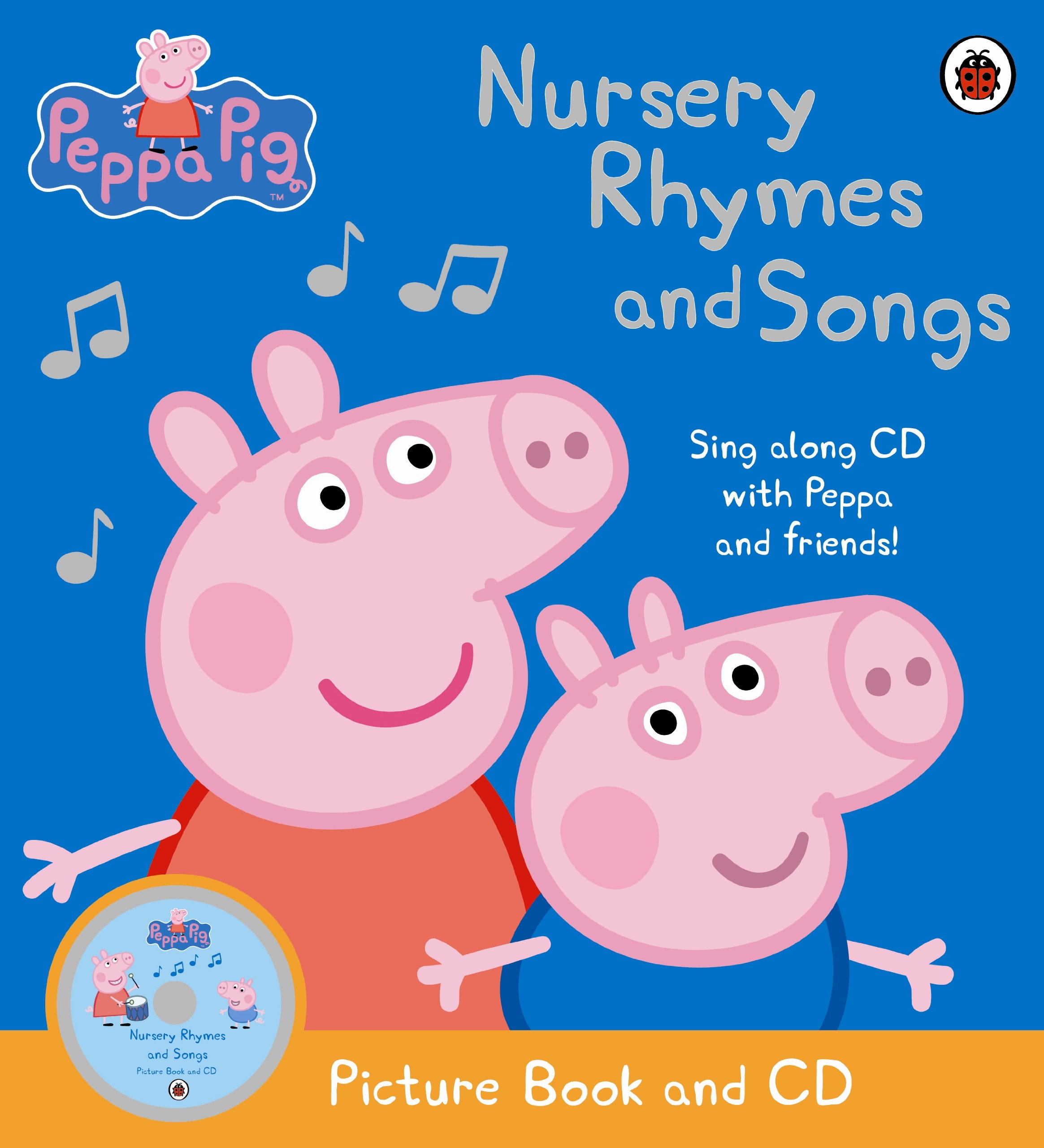 Peppa Pig - Nursery Rhymes and Songs: Picture Book and CD: Collectif:  8601200529142: Amazon.com: Books
