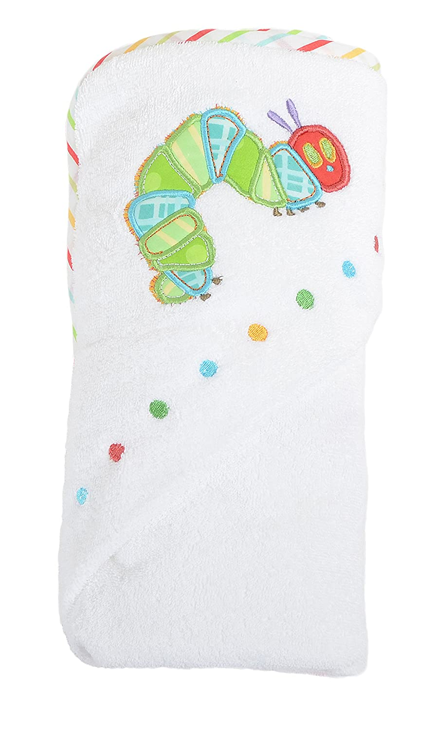 The Very Hungry Caterpillar Baby Cuddle Robe Hooded Towel