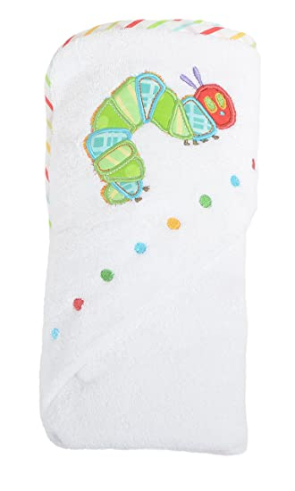 The Very Hungry Caterpillar Baby Cuddle Robe Hooded Towel Amazonco