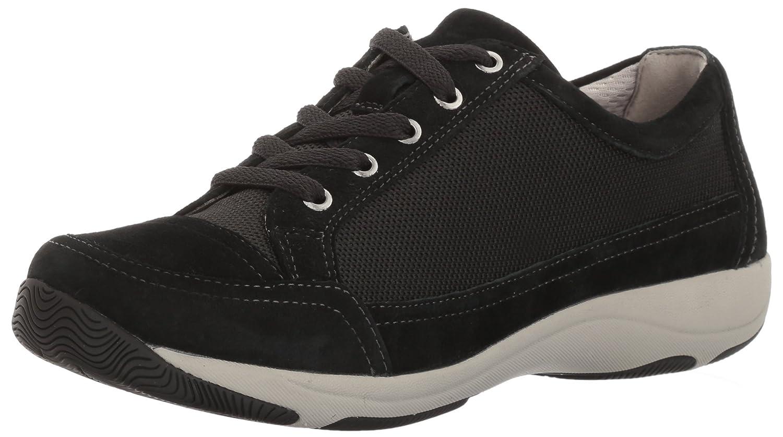 Dansko Women's Harmony Fashion Sneaker B01N6N6H0V 38 EU/7.5-8 M US|Black Suede