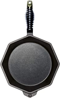 """product image for FINEX 10"""" Cast Iron Skillet, Modern Heirloom, Handcrafted in The USA, Pre-Seasoned with Organic Flaxseed Oil"""