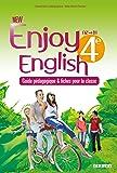 New Enjoy English 4e - Guide pédagogique + fiches