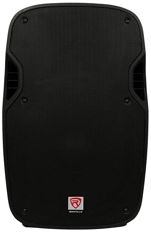 Rockville SPG88 8 Inch Passive 400w DJ PA Speaker ABS Lightweight Cabinet 8 Ohm