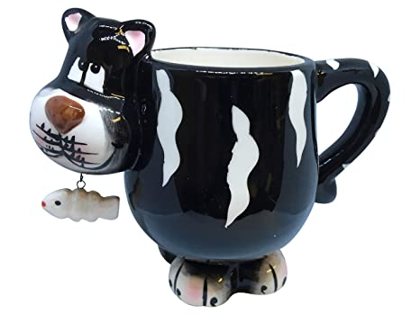 Unique Coffee Mug – 3D Cool Mugs – Animal Novelty Cups for Tea & Coffee – Ceramic Drinking Cups with Handle – Premium Quality & Design – Colored Fun ...