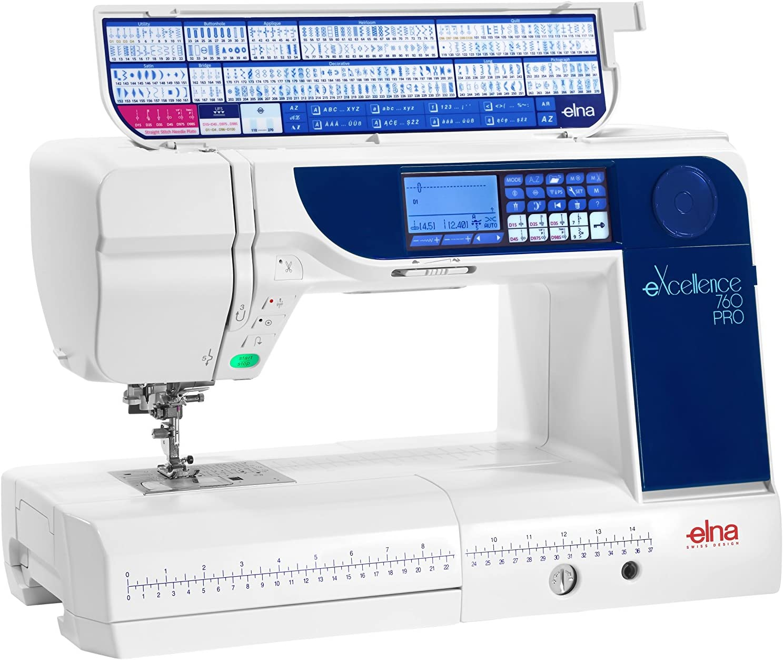 Elna eXcellence 760 máquina de coser: Amazon.es: Hogar