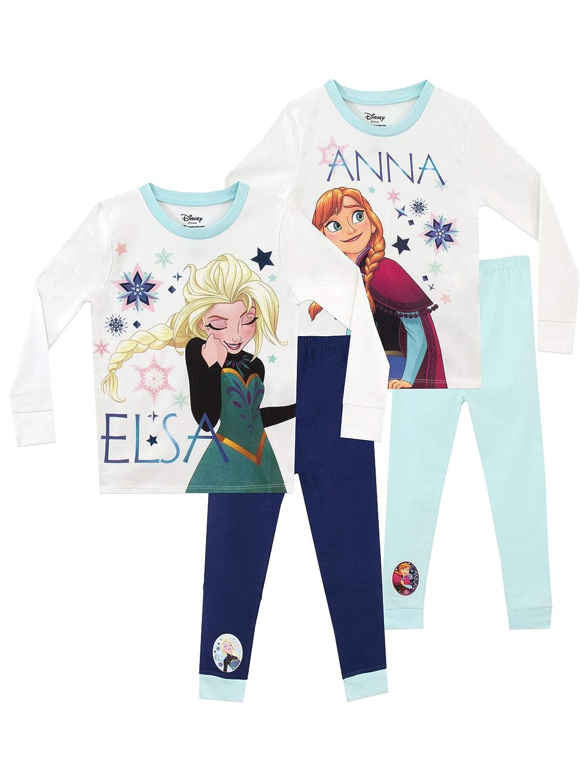 Disney Girls' Frozen Pajamas 2 Pack