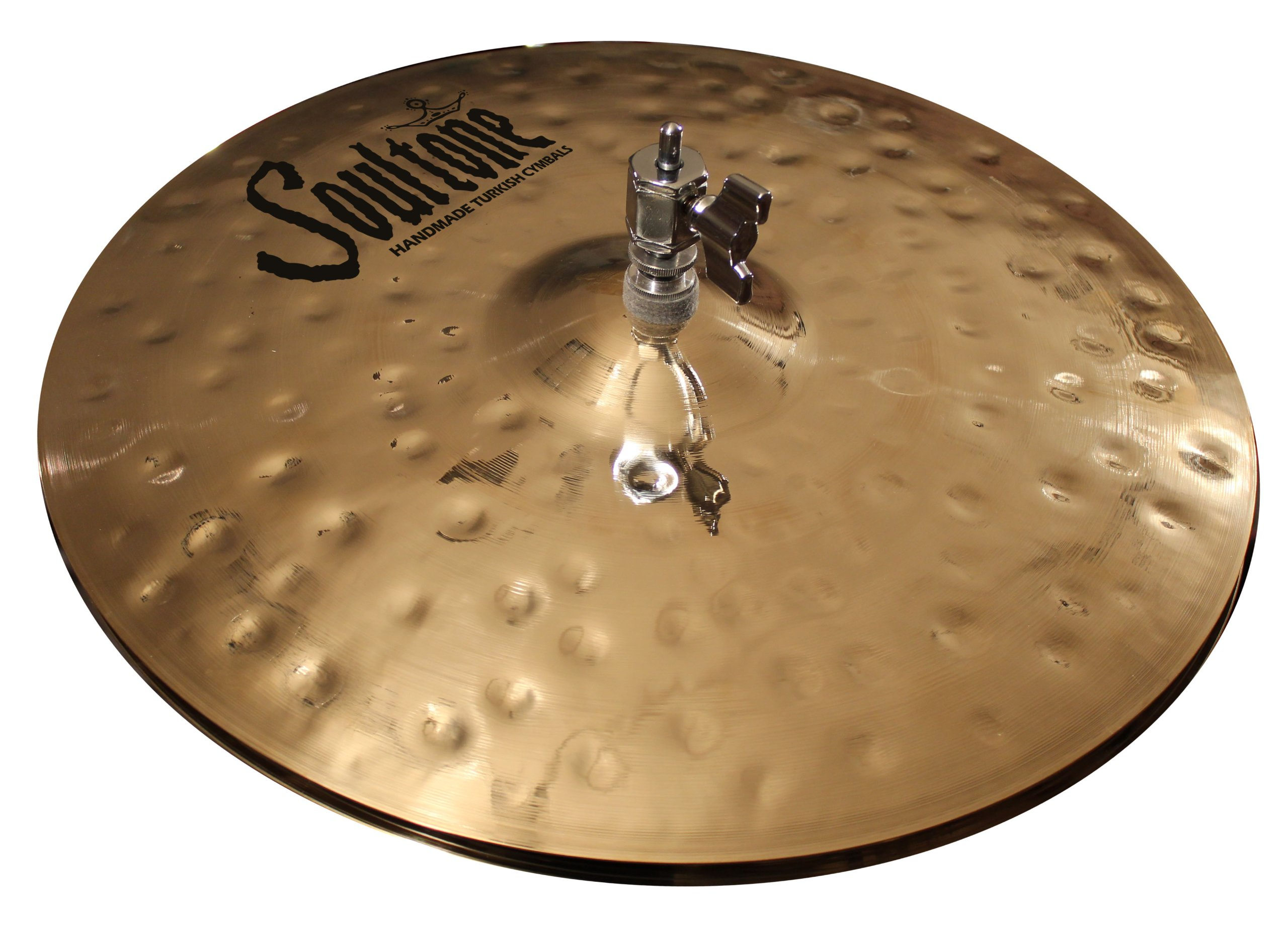 Soultone Cymbals HVHMR-HHT14-14'' Heavy Hammered Hi Hats Pair by Soultone Cymbals