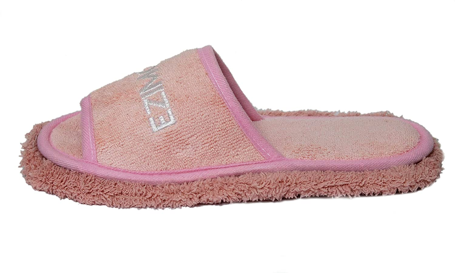 Grey Friendly House Womens Chenille Microfiber Floor Cleaning Mop Slippers