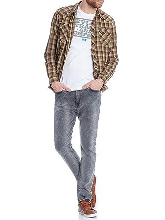 f45cbfb3 Levis Men's 510 Skinny Fit Great Grey Jeans, Grey, 34W x 30L: Amazon ...