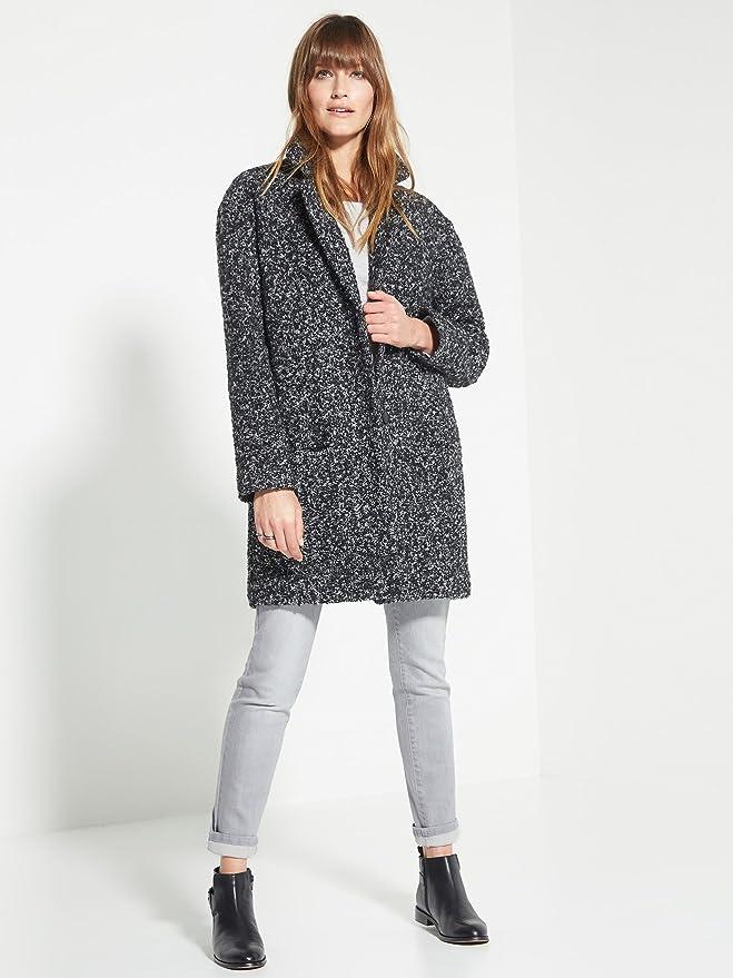 Balsamik Manteau Tweed Femme Taille : 4648 Couleur