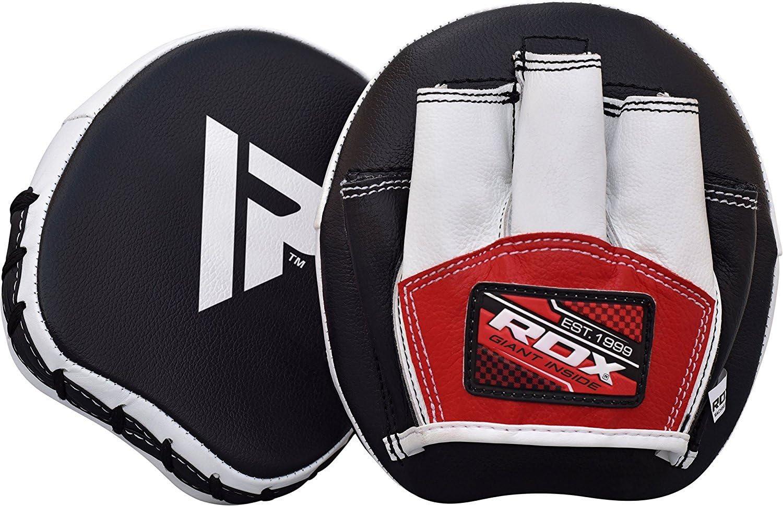 Boxing Pads Hook /& Jab SOO Sports MMA Training Focus Pad Muay Thai Punching Mitt