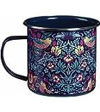 William Morris Strawberry Thief Metal Mug by Briers