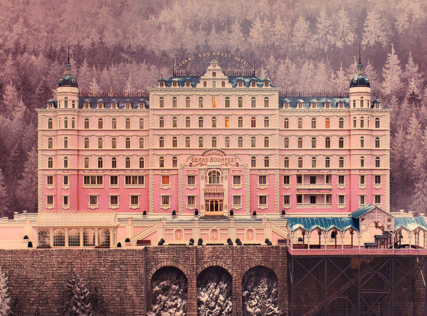 Amazon Com The Grand Budapest Hotel Poster Wall Decor The Grand Budapest Hotel Wall Print Gift Idea Wallpaper The Grand Budapest Hotel Artwork Gift For Him Gift For Her Handmade