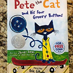 Pete the Cat and His Four Groovy Buttons: James Dean, Eric