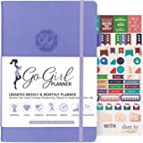 GoGirl Planner and Organizer for Women - A5 Size Weekly Planner, Goals Journal & Agenda to Improve Time Management…