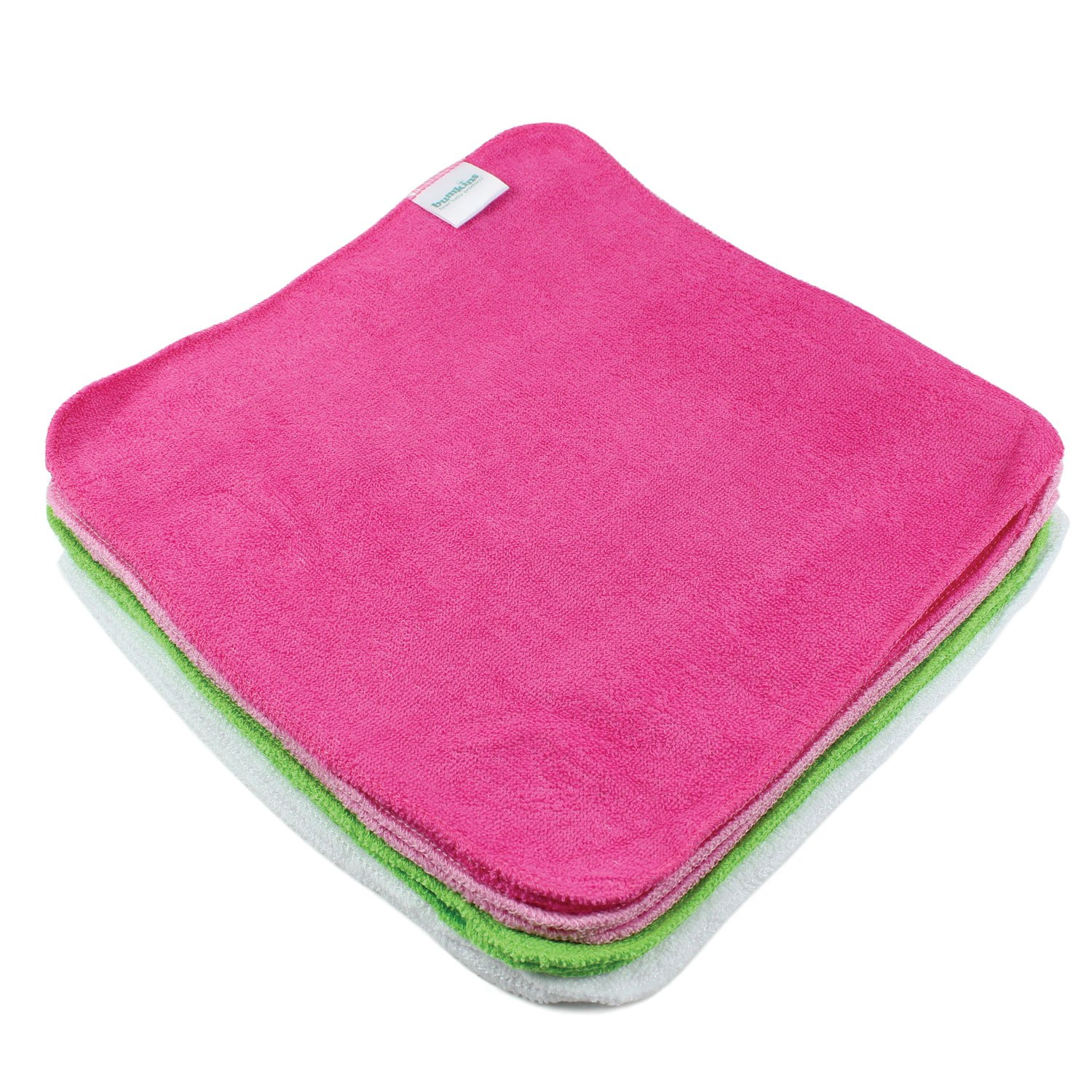 Bumkins Reusable Wipes-Girls, Multi-Color BW12-GRL