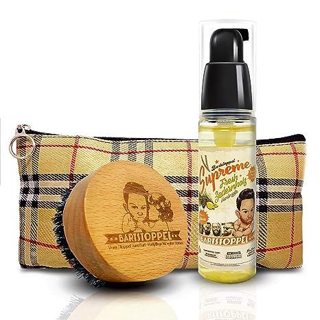 bartöl Cedro de madera aroma de barba Barba Juego de cuidado de para hombres con barba