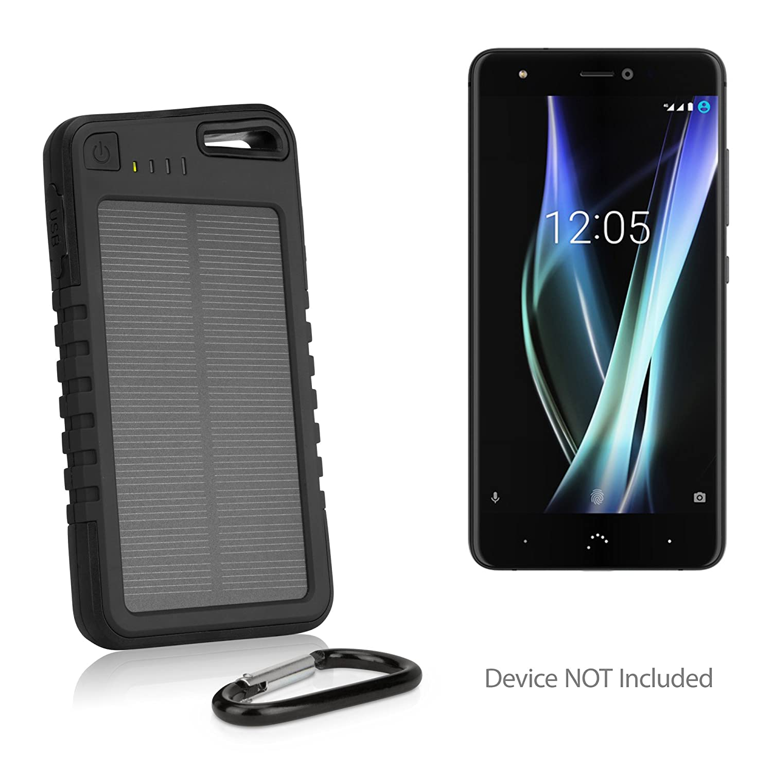 Amazon com: BoxWave BQ Aquaris X Pro Battery, [Solar Rejuva
