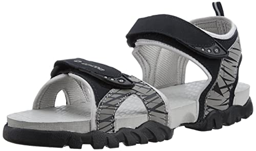 1b659a11461020 Lotto Men s Remy III Navy and Grey Rubber Sandals and Floaters - 8 UK India