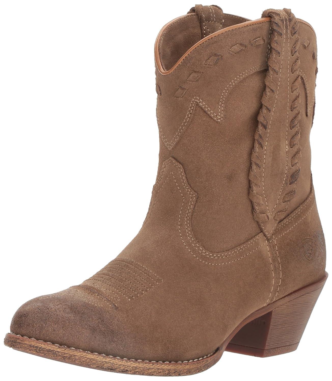 Ariat Women's Round up Rianda Western Cowboy Boot B01L91MFLA 6 B(M) US|Relaxed Bark