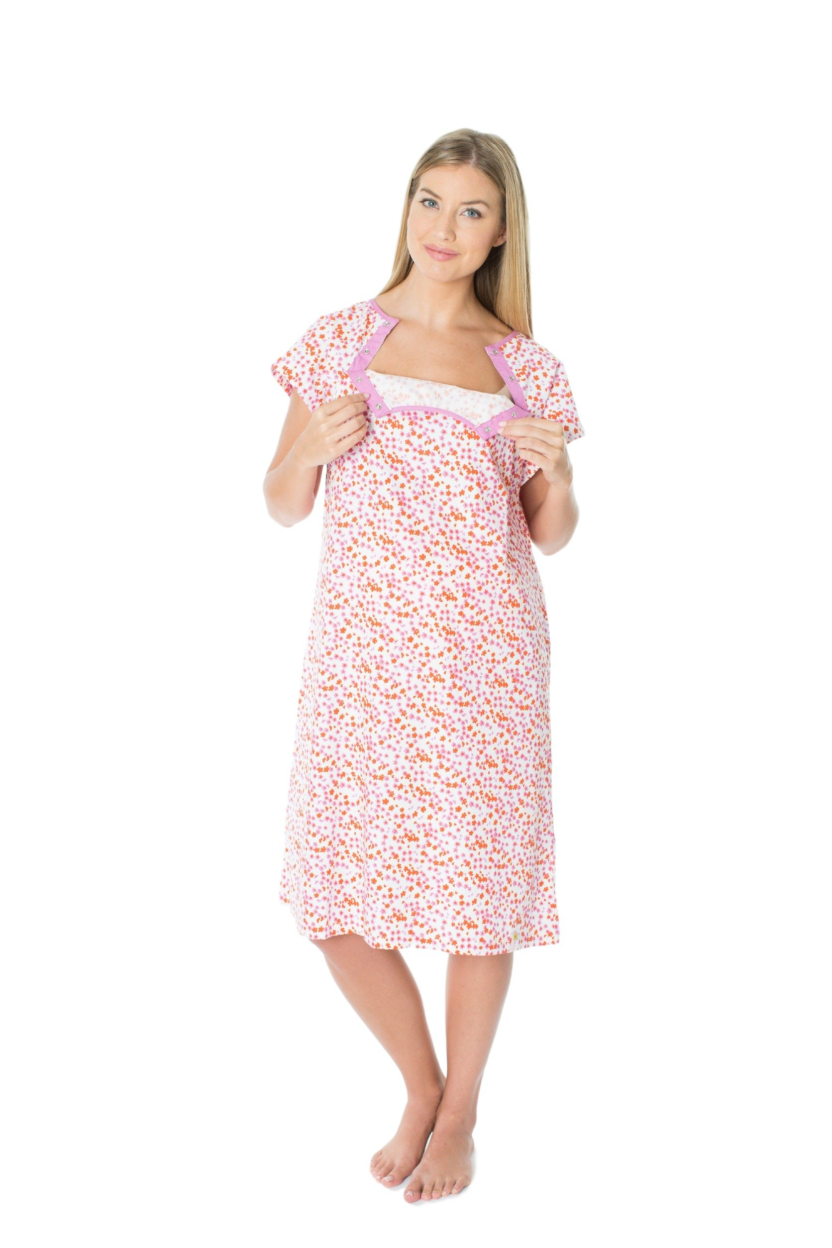Gownies - Labor & Delivery Maternity Hospital Gown (L/XL pre ...