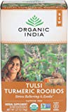 Organic India, Tea Tulsi Infusion Turmeric Rooibos, 18 Count