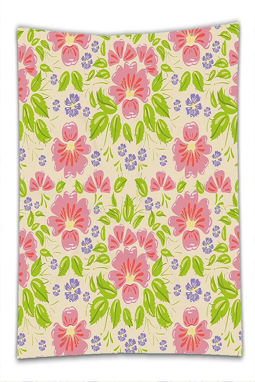 Amazon Com Nalahome Fleece Throw Blanket Shabby Chic Floral