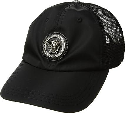 81439a763014 ... coupon for versace mens medusa mesh back cap black one size 0ccc4 af5ac